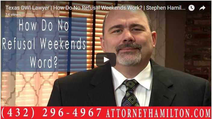 How Do No Refusal Weekends Work Dwi Defense
